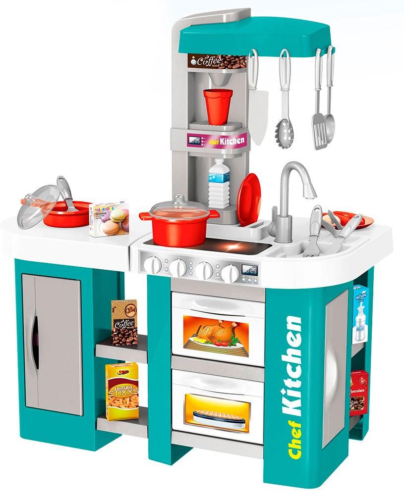 Детская кухня Kitchen Chef  холодильник с водой звуком светом