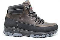 Clubshoes модель LV коричневый,зимние ботинки,тёплые на меху,Харьков,купить