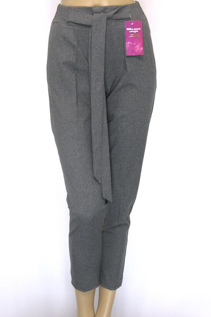 Жіночі брюки на резинці з високою посадкою