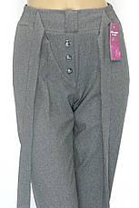 Жіночі брюки на резинці з високою посадкою, фото 3