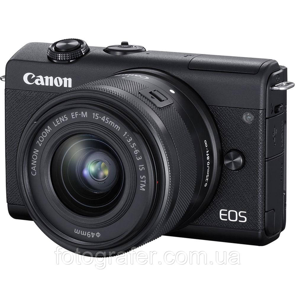 Фотоапарат Canon EOS M200 Kit 15-45mm IS STM Black