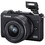 Фотоапарат Canon EOS M200 Kit 15-45mm IS STM Black, фото 4