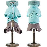 Костюм для собак Pet Fashion Барни светло-голубой XXS