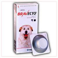 Таблетки Bravecto 40-56 кг (Бравекто) от блох и клещей для Собак
