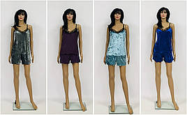Женский комплект топ и шорты
