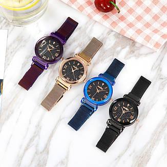 """Женские наручные часы """"Modiya"""" на магнитной застежке (синий), фото 2"""