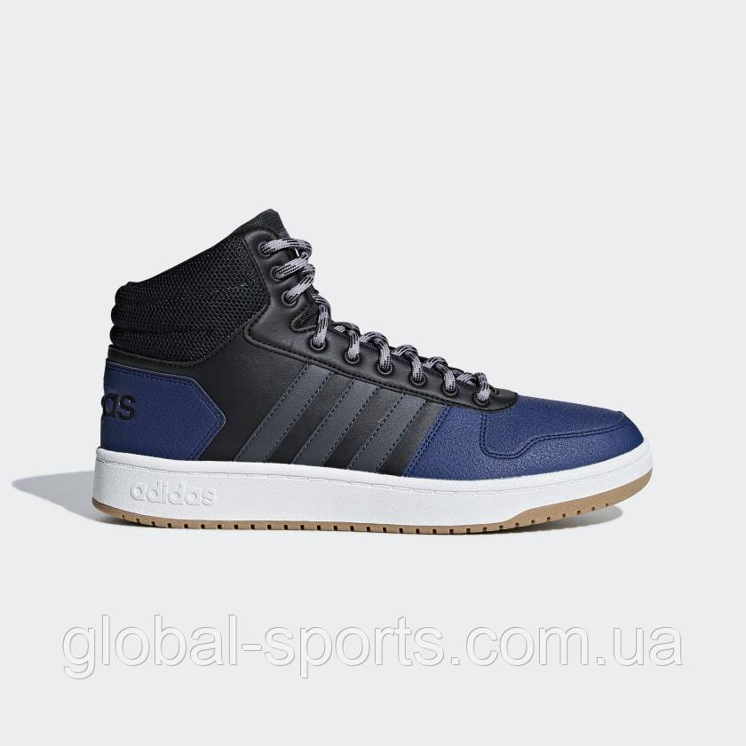Чоловічі кросівки Adidas Hoops 2.0 Mid(Артикул:B44613)