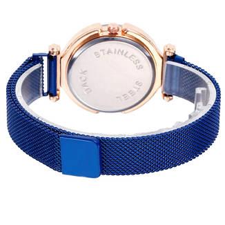"""Жіночі наручні годинники """"Modiya"""" на магнітній застібці (синій), фото 2"""
