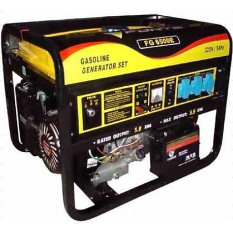 Бензиновый генератор Forte FG6500, фото 2