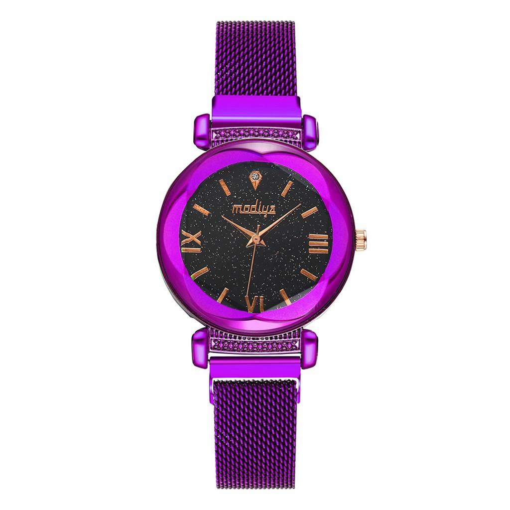 """Женские наручные часы """"Modiya"""" на магнитной застежке (фиолетовый)"""