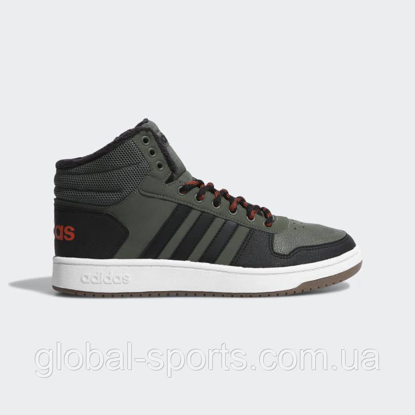 Чоловічі кросівки Adidas Hoops 2.0 Mid (Артикул:CG7115)