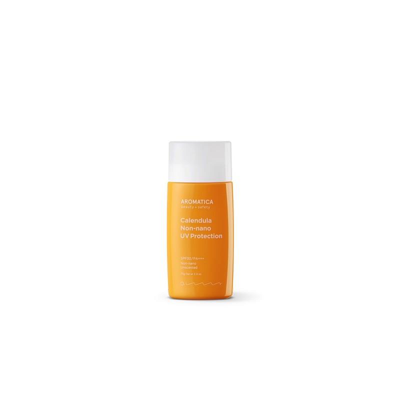 Солнцезащитный крем Aromatica Calendula NON-NANO UV Protection Unscented SPF30/PA+++ 50 г (8809151159511)