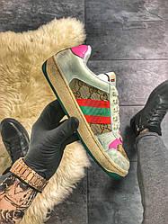 Женские кроссовки Gucci Virtus Distressed