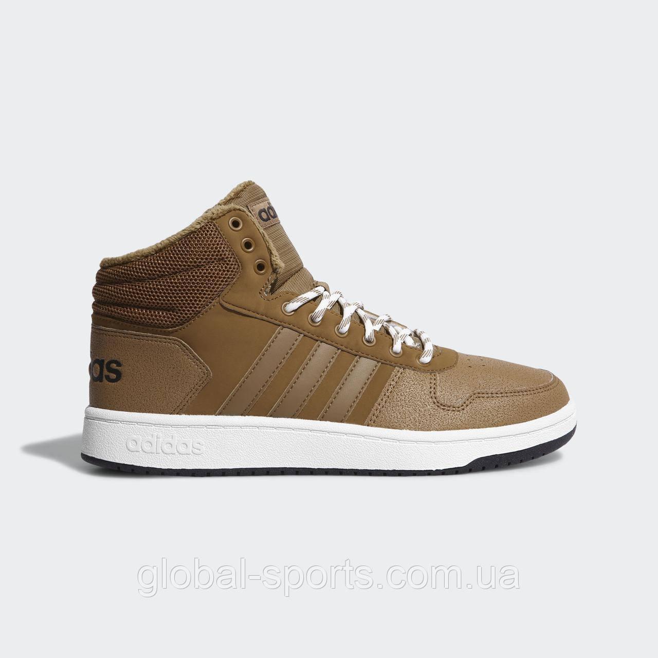 Чоловічі кросівки Adidas Hoops 2.0 Mid (Артикул:CG7114)