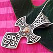 Срібний хрестик з Ісусом, фото 3