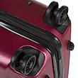 Чемодан OULANDO большой, бордовый, пластик ABS с расширением, 4 колеса 47х72х29(+3)  ксЛ722-28бор, фото 2