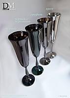 Набор бокалов для шампанского Bohemia Fregata 190 ml (цвет: ГРАФИТ)