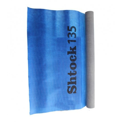 Мембрана супердиффузная Шток (Shtock) плотность 135 г/м.кв. рул. 75 м.кв. 1.5х50 м