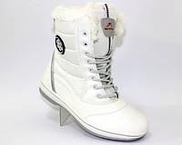 Ботинки зимние белые, фото 1