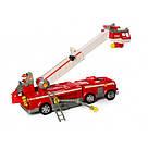 """Набор с транспортом """"Щенячий патруль"""", пожарная машина, звук, свет, транспорт, фигурки, фото 3"""