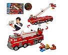 """Набор с транспортом """"Щенячий патруль"""", пожарная машина, звук, свет, транспорт, фигурки, фото 6"""