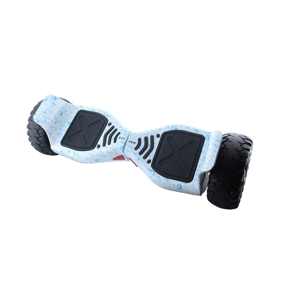 "Гироборд 8.5"" HM №3 Капли воды на белом фоне (АКБ Samsung)"
