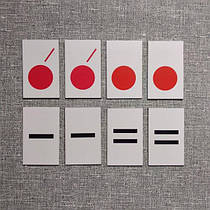 Комплект карточек для звукового анализа слов.