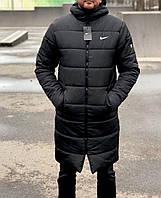 Мужская куртка зимняя в стиле Nike, фото 1