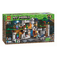 """My World Майнкрафт: Приключения в шахтах"" конструктор 10990, 666 деталей"