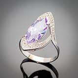 Серебряное кольцо Слеза, фото 2
