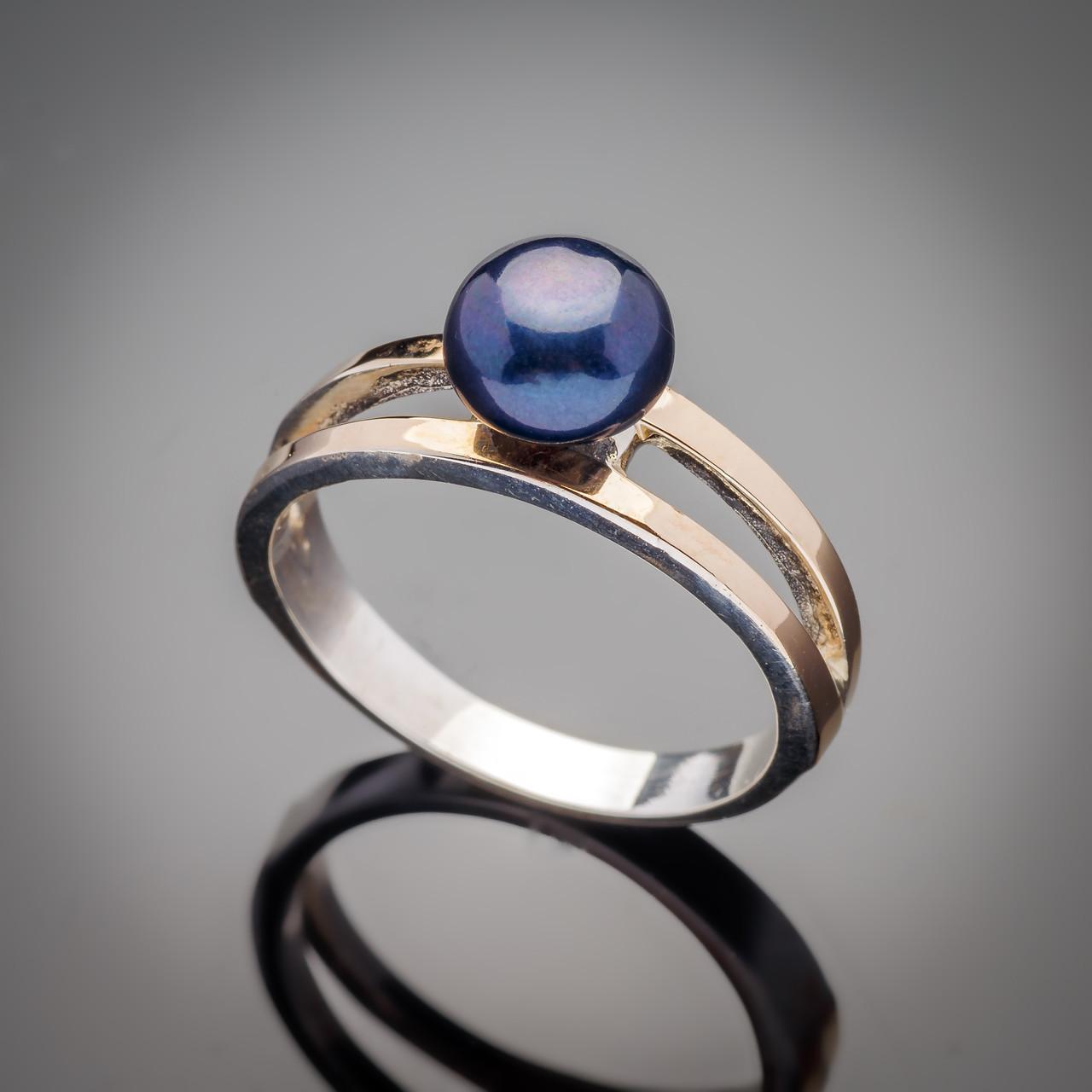 Серебряное кольцо Парижанка