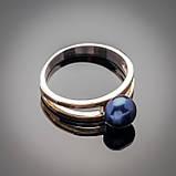 Серебряное кольцо Парижанка, фото 2