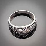 Серебряное кольцо с эмалью Мозаика, фото 10
