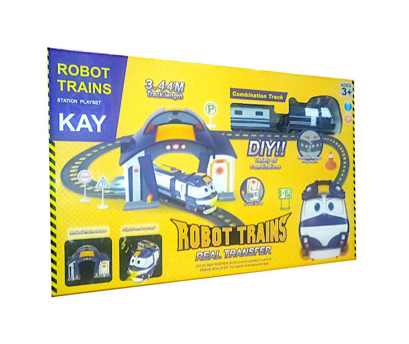 "Железная дорога ""Robot train"""