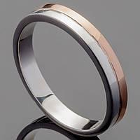 Обручальное кольцо из серебра 925 пробы арт. 4