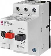 Автомат защиты двигателя  ETI MS25-20 (4600120)
