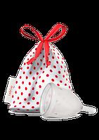 Менструальная чаша LadyCup Clear silicone L  (Чехия)