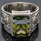 Перстень мужской из серебра 925 пробы Рафаэль, фото 2