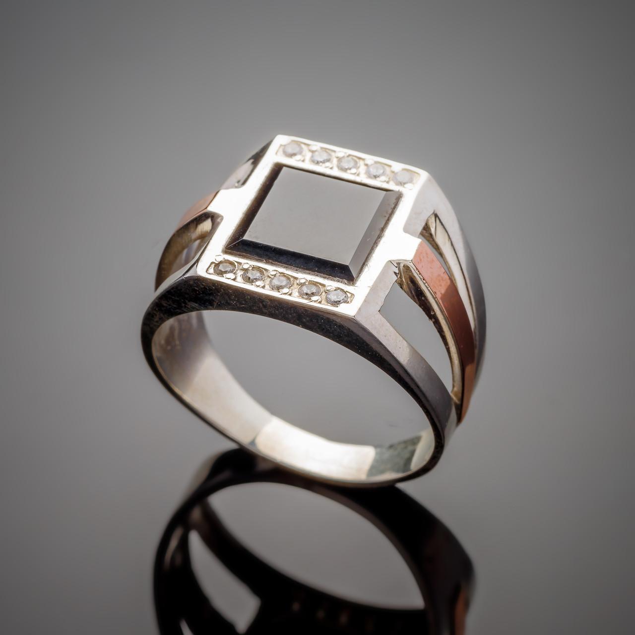 Серебряное кольцо Принц