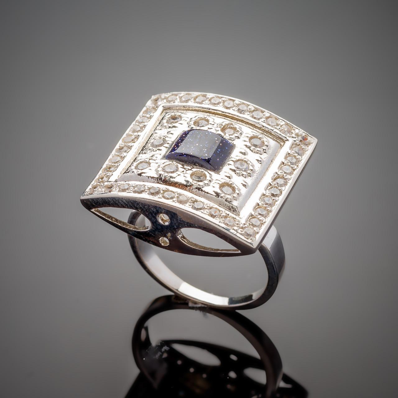 Серебряное кольцо Мишель