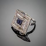 Серебряное кольцо Мишель, фото 2
