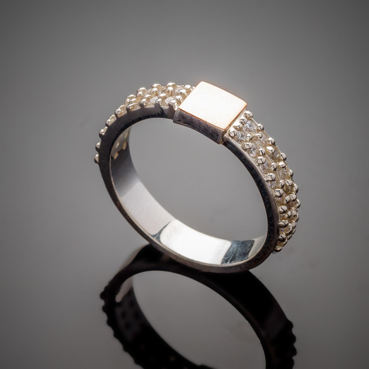 Серебряное кольцо Лиана