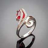 Серебряное кольцо Сильвия, фото 2