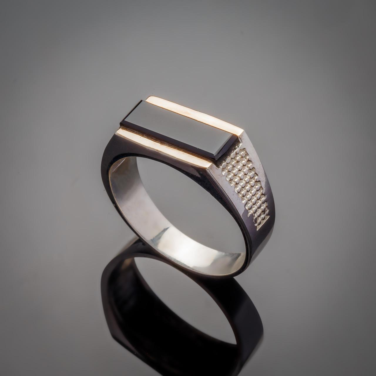 Серебряное кольцо Марк