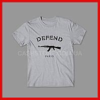 Футболка Defend Paris | Унисекс