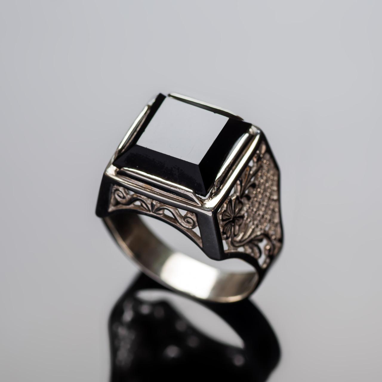 Серебряное кольцо Нарцис