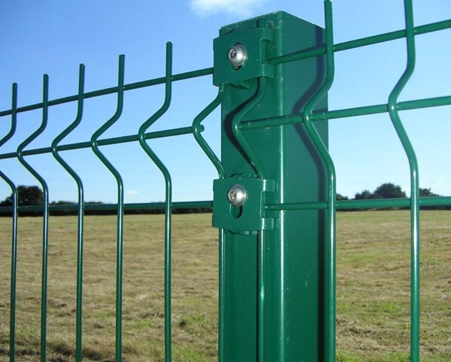 Столб для забора 60х40х1,5 мм металл оцинкованный крашенный цвет зелёный,