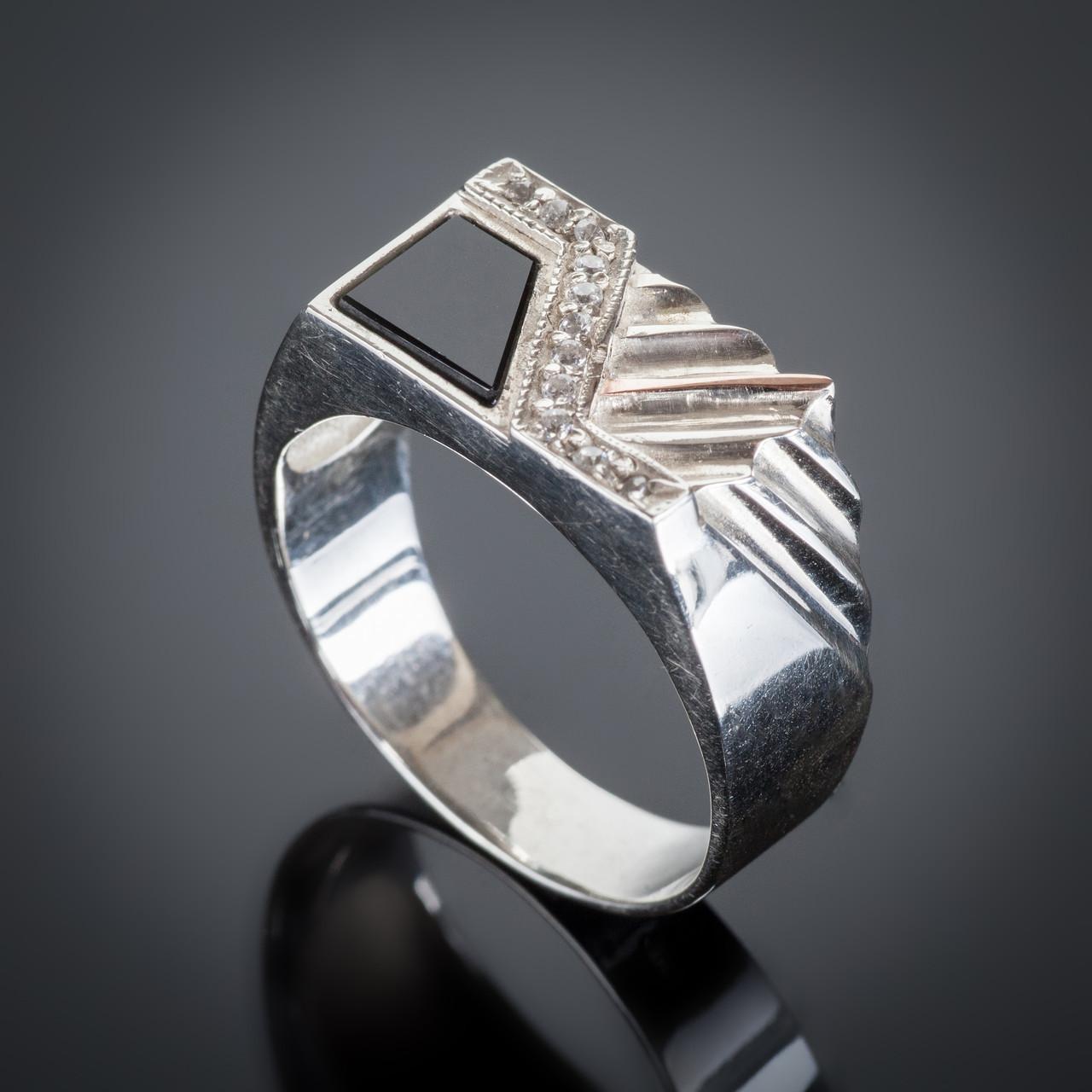 Серебряное кольцо Богдан