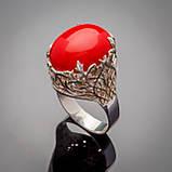 Серебряное кольцо Мадонна, фото 3