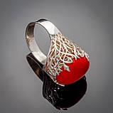 Серебряное кольцо Мадонна, фото 4